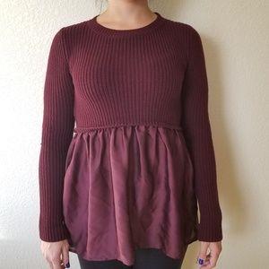 Xhilaration Purple Sweater